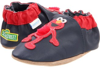 Robeez Touch Feel Elmo Soft Soles (Infant/Toddler) (Navy/Red) - Footwear