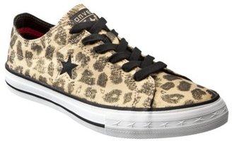 Converse Women's One Star® Leopard Oxfords - Brown