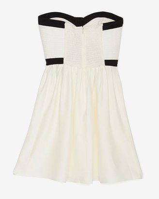 Parker Quilted Strapless Dress