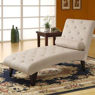 Monarch Velvet Chaise Lounger