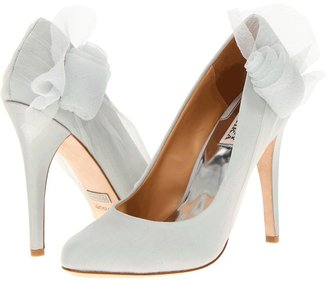 Badgley Mischka Ciri (Light Grey Silk) - Footwear