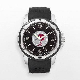 B.C.S. Logoart alabama crimson tide 2012 national champions silver tone watch - unv12143 - men
