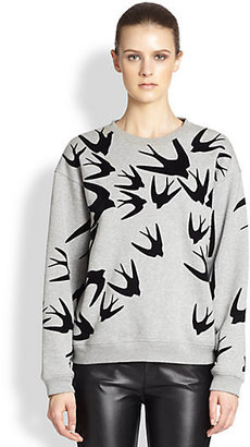 McQ Swallow Flock Sweatshirt