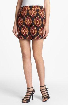 Kensie Ikat Print Skirt