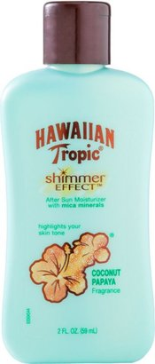 Ulta Hawaiian Tropic Travel Size Shimmer Effect Coconut Papaya After Sun Lotion