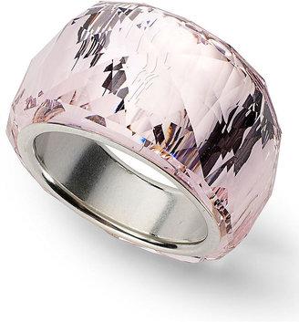 Swarovski Ring, Silver-Plated Nirvana Petite Amethyst Crystal Ring