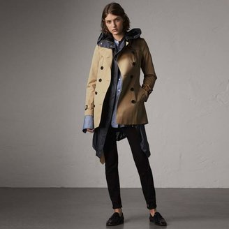 Burberry The Sandringham - Short Trench Coat