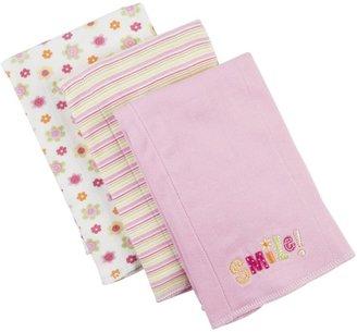 Gerber 3 Pack Knit Burpcloths