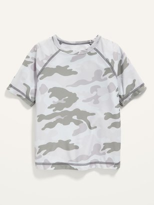Old Navy Short-Sleeve Camo-Print Rashguard for Toddler Boys