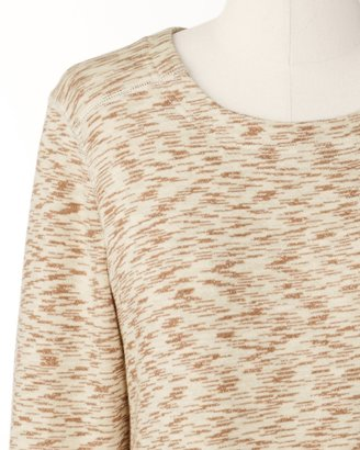 Coldwater Creek Mocha mix pullover