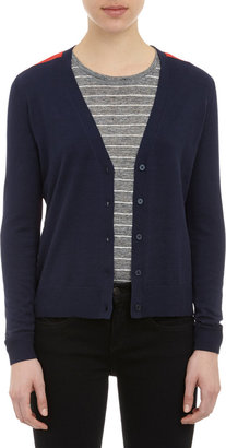 Barneys New York Colorblock Cardigan
