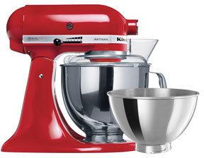 KitchenAid KSM160 Artisan Mixer: Empire Red