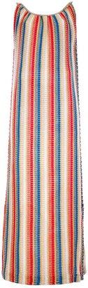 Ungaro Vintage maxi dress knitted suit