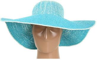 Calvin Klein Ombre Woven Sunhat with lurex