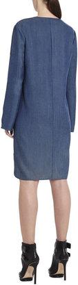 BCBGMAXAZRIA Tilda Long-Sleeve Dress