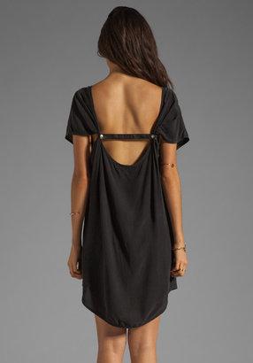 Gypsy 05 Sarah Leather Strap Mini Dress