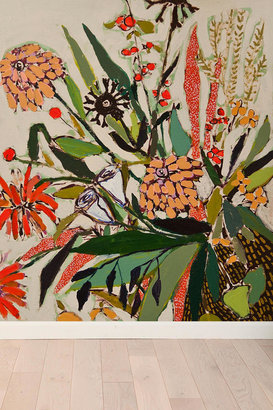 Urban Outfitters Lulie Wallace Flowers For Nora Wall Mural