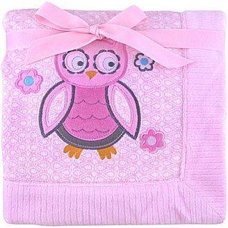 JCPenney Cuddletime Owl Baby Blanket