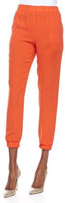 Tibi Bibe Crepe Jogging Pants (Stylist Pick!)