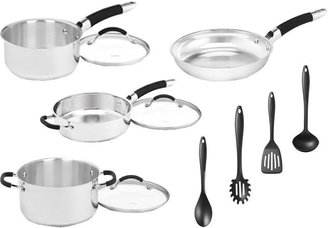 Cuisinart 11-Piece Stainless Steel Cookware Set with 4 Gadgets