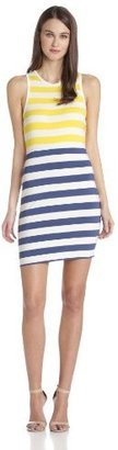 Dolce Vita Women's Shondra Color-Block Stripe Sheath Dress