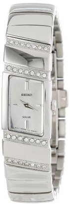 Seiko Women's SUP167 Modern Jewelry-Solar Classic Watch $260 thestylecure.com