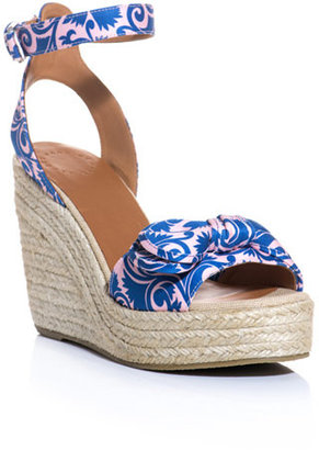 Marc by Marc Jacobs Pretty knot espadrille wedge shoes