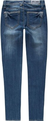 Vanilla Star Metallic Trim Girls Skinny Jeans