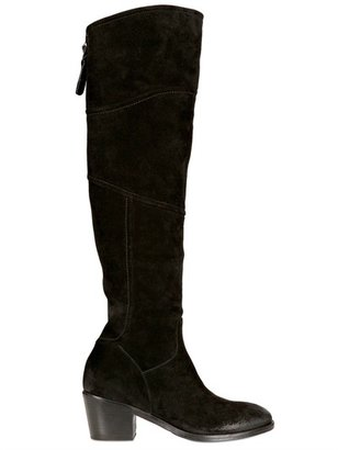 Alberto Fermani 60mm Suede Tall Boots