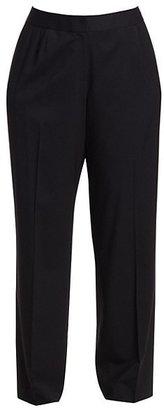 Lafayette 148 New York, Plus Size Menswear Stretch-Wool Pants