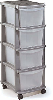 at Argos · Argos Home 4 Drawer Silver Plastic Tower Storage Unit  sc 1 st  ShopStyle & Argos Wall Units - ShopStyle UK