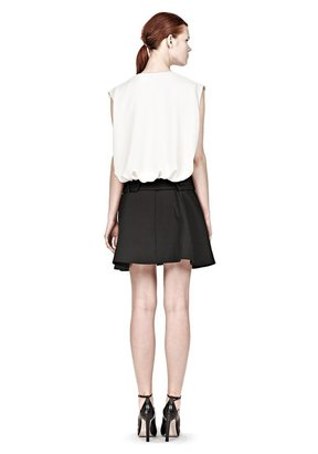 Alexander Wang Dropped Waist Blouson Dress