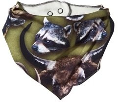 Molo Animal Heads Nick Bib