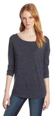 Calvin Klein Jeans Women's Drapey Striped Knit