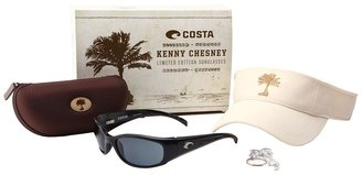 Costa - Kenny Chesney Limited Run Hammerhead 580 Plastic (Black/Gray 580 Plastic Lens) - Eyewear