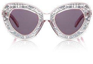 Karen Walker Clear Pink Intergalactic Sunglasses
