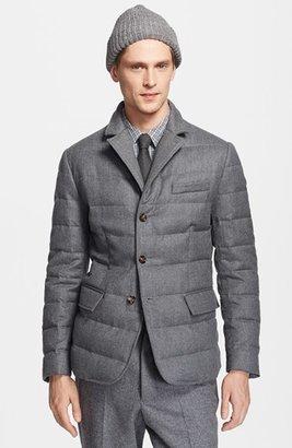 Moncler 'Rodin' Wool Down Blazer Jacket