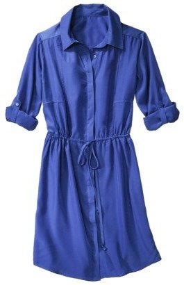 Mossimo Women's Shirt Dress - Assorted Colors