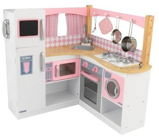 KidKraft Grand Gourmet Corner Kitchen $121.99 thestylecure.com