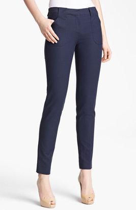 Michael Kors 'Samantha' Skinny Stretch Cotton Pants