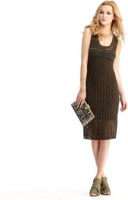 Rachel Roy Open Crochet Dress