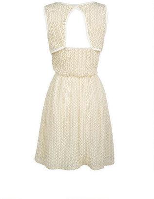 Delia's Textured Skater Dress