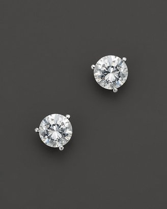 Certified Diamond Stud Earrings in Platinum, 2.5 ct. t.w.