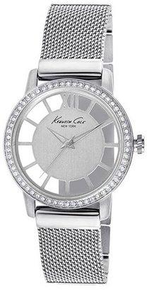 Kenneth Cole New York Transparent Dial Bracelet Watch, 36mm