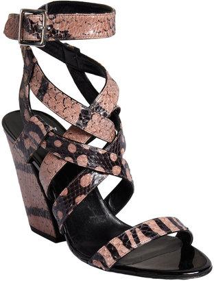 Pierre Hardy Stacked Heel Sandal