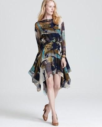 Yigal Azrouel Cut25 by Printed Dress - Watercolor