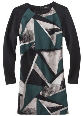 Mossimo Women's Sheath Dress -Green Print