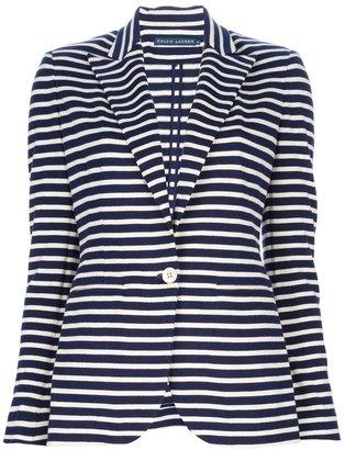 Ralph Lauren Blue striped blazer