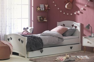 Argos Home Mia White Single Bed Frame