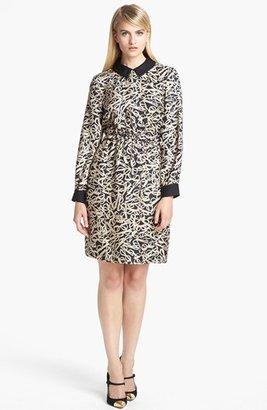 Kate Spade 'willow' Print Woven Shirtdress